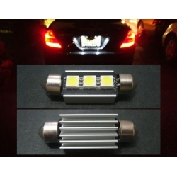 Festoon Canbus 3 LED 5050 SMD 39mm