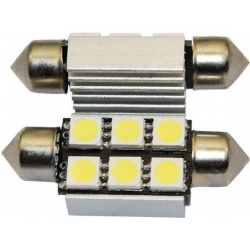 Festoon Canbus 6 LED 5050 SMD 39mm