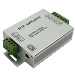 Amplificador PWM para 3 canales Led 12-24v.12/24A.
