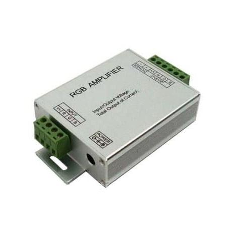 Amplificador PWM 3 canales Led o RGB 12-24v.12A.