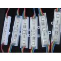 Modulo de 3 Led RGB 5050 con Aletas