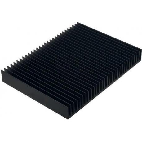 Disipador Térmico de Aletas de 200x25mm