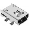 Conector Mini USB-A Hembra PCB SMD 4pin