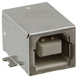 Conector USB-B Hembra SMD 4 pin para PCB