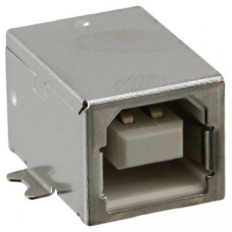 Conector USB B-Hembra SMD 4 pin