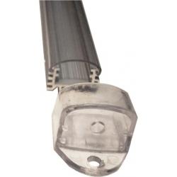 Perfil barra de aluminio 18x13.50mm