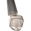 Perfil de Aluminio de 1 Metro 18x10mm