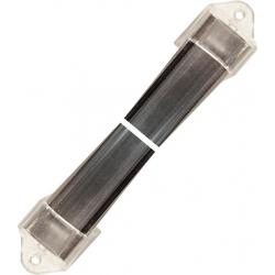 Perfil barra de aluminio 20x13mm