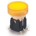 Pulsador Tact Switch 10x13mm luminoso