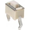 Pulsador Tact Switch THT de 6x3x3.5mm