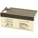 Bateria Plomo Gel recargable de 12v.1.300mA
