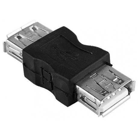 Adaptador USB-A Hembra-Hembra
