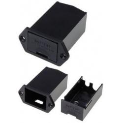 Porta pilas-Baterías 1 x 9v