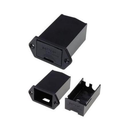 Contenedor Portapilas Pilas/Baterías 1 x 9v