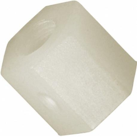 Separadores hexagonales de Nylon-poliamida M4