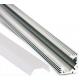 Perfil angular 45º de Aluminio Anodizado Mate
