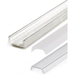 Perfiles de Aluminio de 1 y 2 metros 15.2x6mm