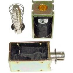 Electro imanes, Solenoides de desplazamiento rectangulares