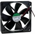 Ventilador refrigeración 12v. 120x120x25mm 29dB