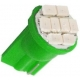 Bombilla LED T10 8 Led SMD 12v