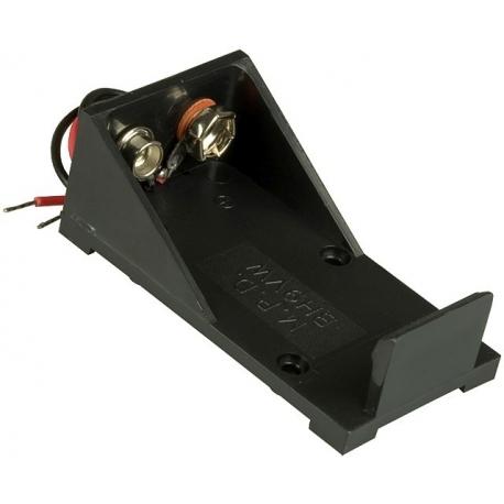 Portapilas Pilas/Baterías 1 x 9v