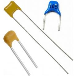 Condensadores cerámicos, multicapa