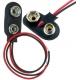 Clip Portapilas, baterías 6F22 de 9v