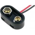 Clip Porta pilas Reforzado 6F22 9v