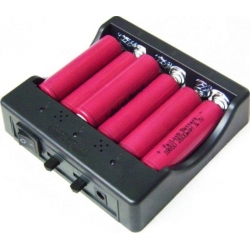Multi Cargador de 6 Baterías de Litio y LifePo