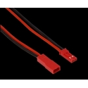 Conector JST BEC RCY 2 Pin Cable Silicona