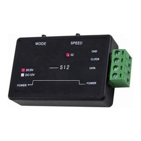 Mini Controlador Pixel Led 5-12v