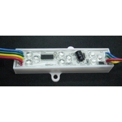 Modulo Pixel 9 led RGB 12v. Chip