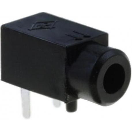 Conectores Jack 2.5mm Hembra Pcb