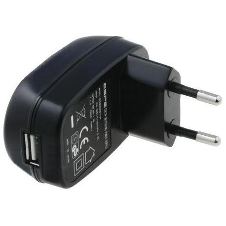 Cargador USB para Litio 220v-5v.1.5A