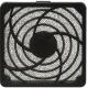 Rejillas plastico con filtro para Ventiladores 80mm