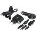 Set Cargador USB para Litio 12v-5v, 220v-5v