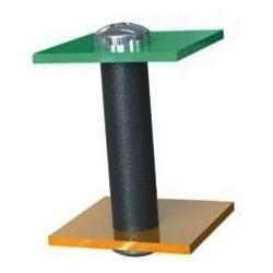 Separadores tubulares de Nylon-poliamida Negro7mm