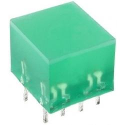 Cubo Led verde