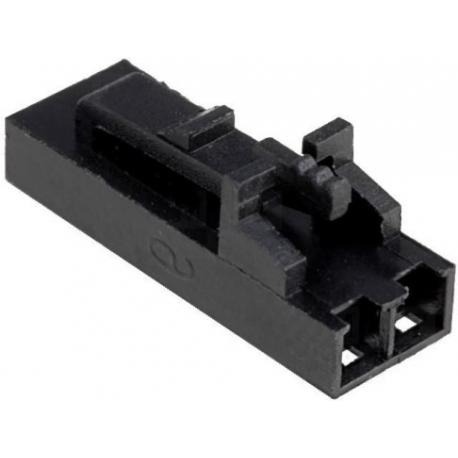 Conector Hembra Molex 5057 2.54mm 2pin