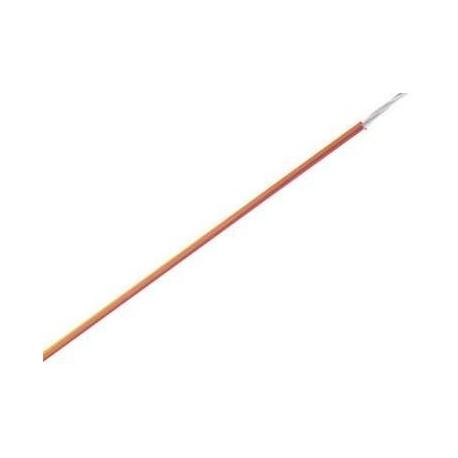 Cables flexibles unipolar 0.5mm Naranja
