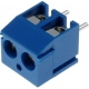 Bornas circuito impreso 3.50mm Azul 2pin