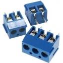 Bornas circuito impreso TB paso 3.50mm Azul