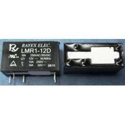 Rele Rayex 12A. Mini LMR1