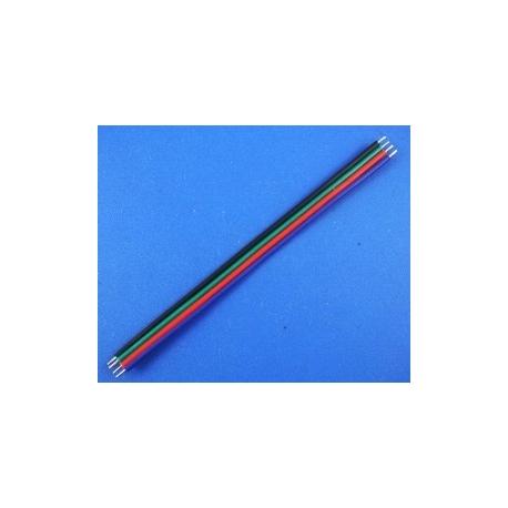 """Cable Plano de 4 hilos """"Flat cable"""" para Tiras de Led"""