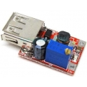 Fuente DC-DC-Step Up, USB 0.9-6v a 3-5v. ajustable