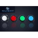 Filtros de colores 44mm para Linternas Olight, Ultrafire, Trustfire
