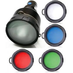 Filtros de colores para Linternas SR91 Olight