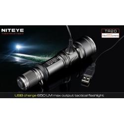 Linterna Led Xml 650Lm USB Niteye TR20