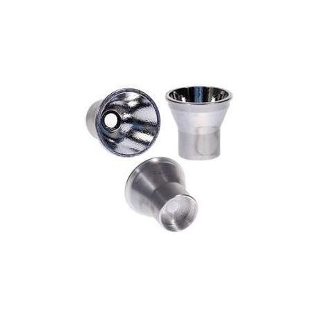 Reflector Aluminio 35x32mm para Led CREE