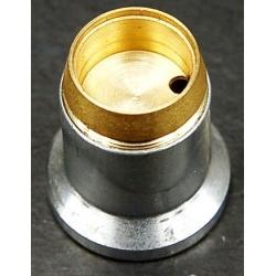 Reflector Aluminio 23x23mm para Linternas Led CREE
